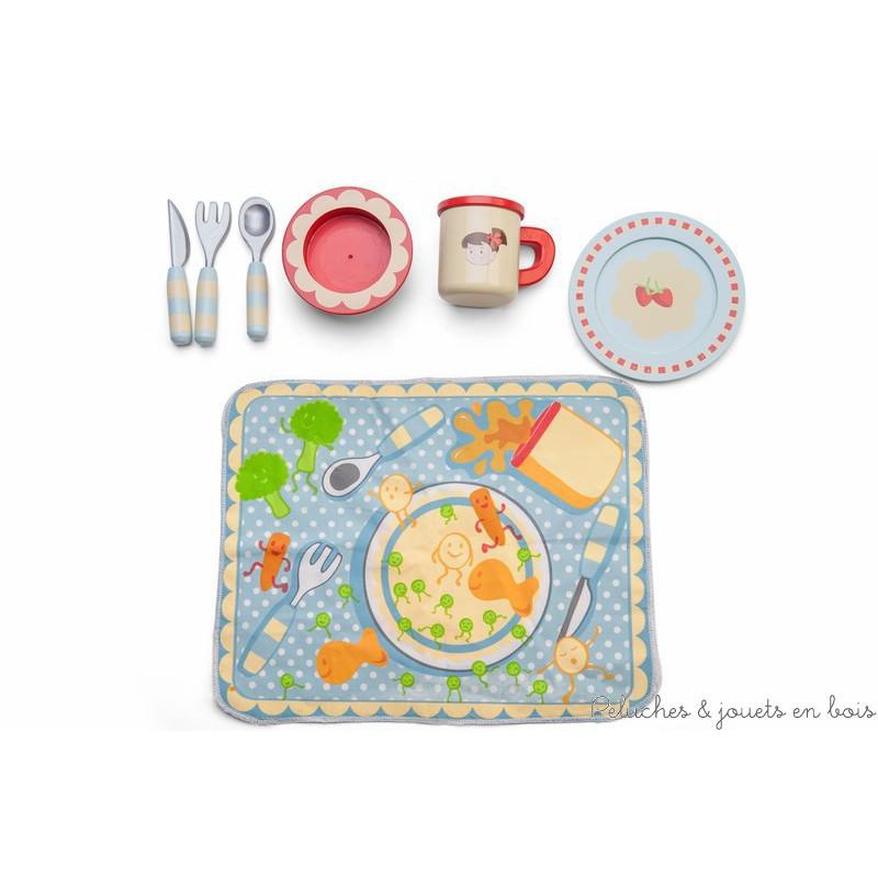 Set de table r versible et couvert marque le toy van 3 ans - Marque de couvert de table ...