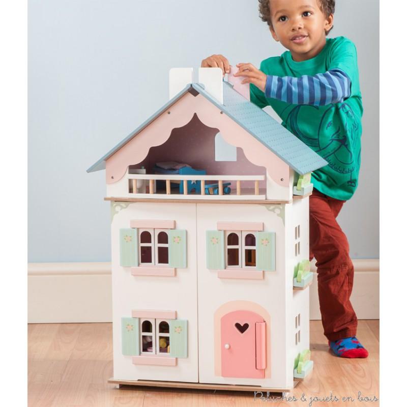 le toy van la maison de juliette peluches et jouets en bois. Black Bedroom Furniture Sets. Home Design Ideas