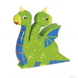 Le Coin des Enfants, Figurine en bois peint Le Dragon Vert