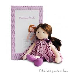 Doudou et Compagnie, Demoiselle cheveux longs à coiffer Violette