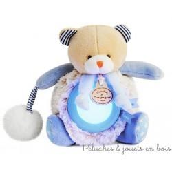 Doudou et Compagnie, Doudou Veilleuse Lovely ours Pistache