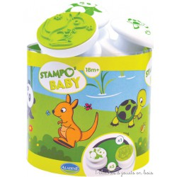 Aladine stampo baby Animaux 5 tampons + encreur 03817