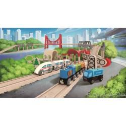 Coffret de Train Double Boucle Hape E3712