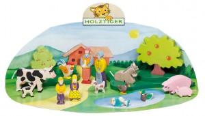 Ces jouets de qualité qui font la réputation de la marque Holztiger sont fabriqués depuis toujours en bois massif