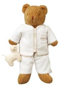 Ours veilleuse pyjama et mouton Ange (39 cm) veilleuse bébé/ peluche bébé de la marque Trousselier