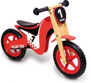 La draisienne moto pour mieux apprendre tout seul à faire du vélo sans pédale !