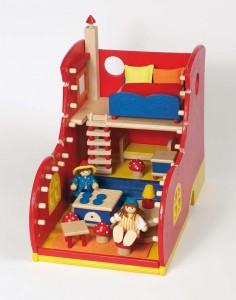 La maison de poupée en forme de chaussure de la marque Goki