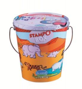 """sceau Stampobox sur le thème des """"Animaux de la Savane"""""""