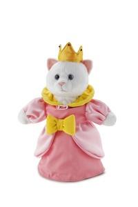 marionnette chat - princesse signée Trudi, spécialiste de la peluche de qualité, avec des idées très ludiques et innovantes !