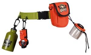 """le set """"ceinture de l'explorateur"""" de la marque Navir fera le bonheur de tous les aventurieux en herbe"""