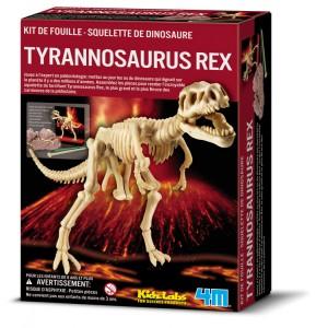 kit de fouille du squellette du Tyrannosaure rex signé 4M Kidslabs