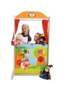 Découvrez les marionnettes à main double et/ou reversible ...quant la princesse se transforme en petit chat et  le roi que devient-il ?