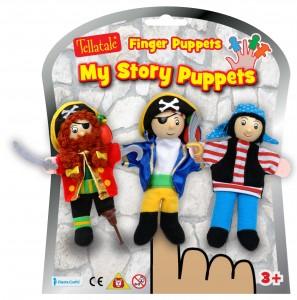 le set de marionnettes de doigt des Pirates de la marque Fiesta craft peut être avantageusement complété par....