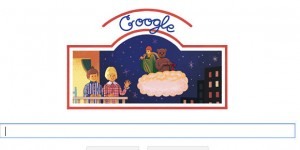 Dans son doodle du jour, le moteur de recherche rend hommage à la célèbre émission de télévision pour enfants, qui fête ses 50 ans aujourd'hui.
