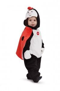 Un déguisement coccinelle de la marque Trudi. Pour les enfants de 1 et 2 ans.