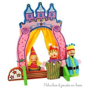 théâtre de marionnettes à doigt de la marque Bigjigs