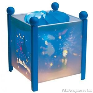 """Lanterne magique carrée de la marque Trousselier sur le thème ''le petit prince©"""" avec une ampoule 12V à partir de 0m+"""