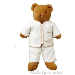 Un ours veilleuse  de la marque Trousselier, il est adapté aux tout petits dès la naissance 0+