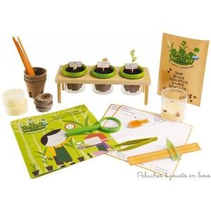Un laboratoire de botanique signé Navir avec tout le nécessaire pour devenir un parfait jardinier dès 8 ans : faire grandir et observer la nature de la graine à la plante.