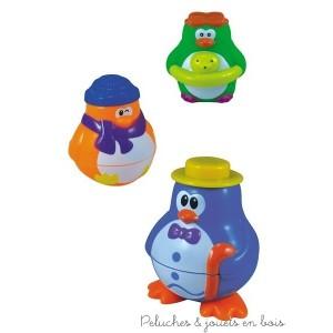 ce pingouin aux multiples activités de la marque BabySun fera de l'heure du bain un vrai moment de plaisir pour bébé. A partir de 1 an+