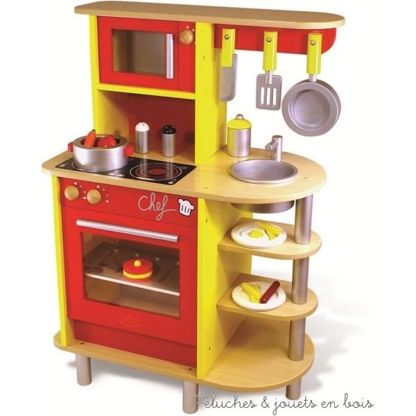 Cuisine bois jouet for Cuisine en bois jouet