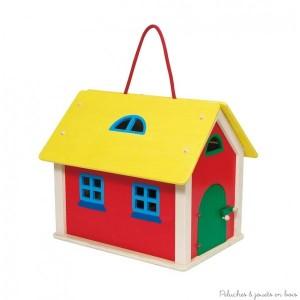 La maison de poup e en bois 5 quant la maison de poup e for Valise makita avec tous ses accessoires