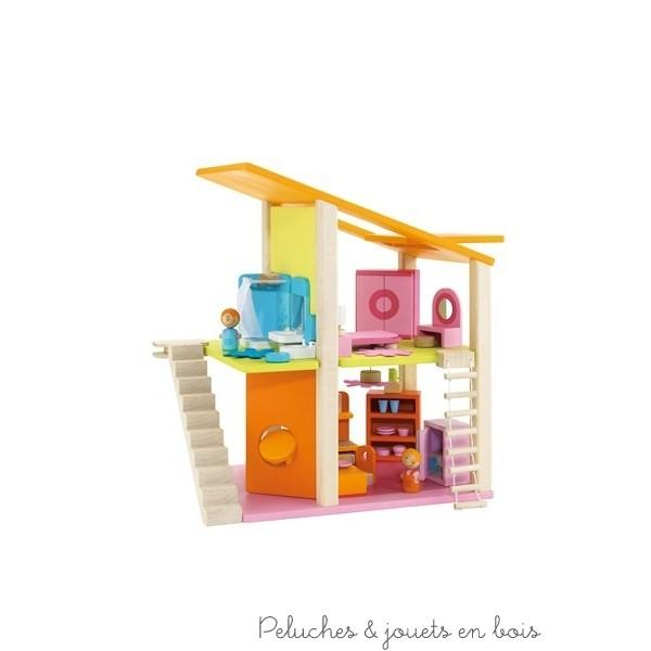 La Maison De Poup E En Bois 2 Le Charme D 39 Une Petite