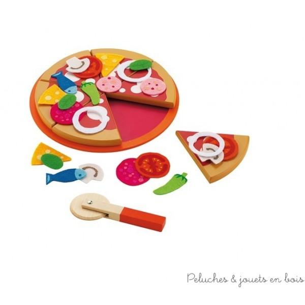 set a pizza de 8 pièces et 22 ingrédients pour composer toi-même ta pizza au gré de tes envies!
