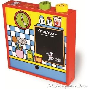 comment s lectionner la cuisine en bois jouet 2 la french touch de vilac au service des petits. Black Bedroom Furniture Sets. Home Design Ideas
