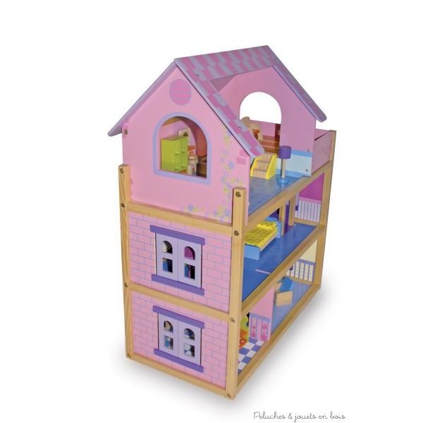 La maison de poup e en bois 3 comment s lectionner avant no l une tr s gran - Maison de poupees en bois ...