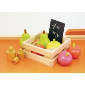 Le grand marché de la marque House of Toys Livré avec + de 50 accessoires en bois. A partir de 3 ans+
