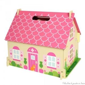 la maison de poup e en bois 8 petite ou grande la maison de poup e en bois bigjigs est un. Black Bedroom Furniture Sets. Home Design Ideas
