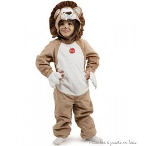 Un déguisement lion de grande qualité de la marque Trudi pour les enfants de 3 et 4 ans.