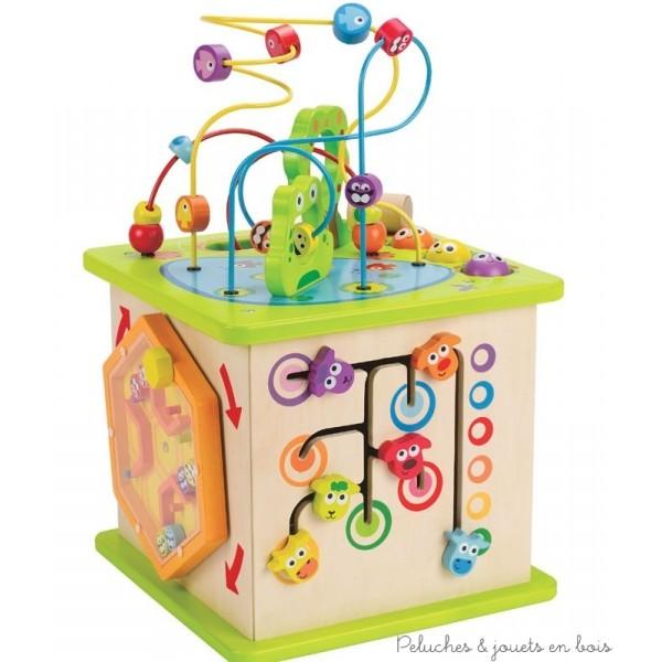 le cube multi activit s country critters pour un cadeau de no l de r ve le jouet d 39 veil en. Black Bedroom Furniture Sets. Home Design Ideas