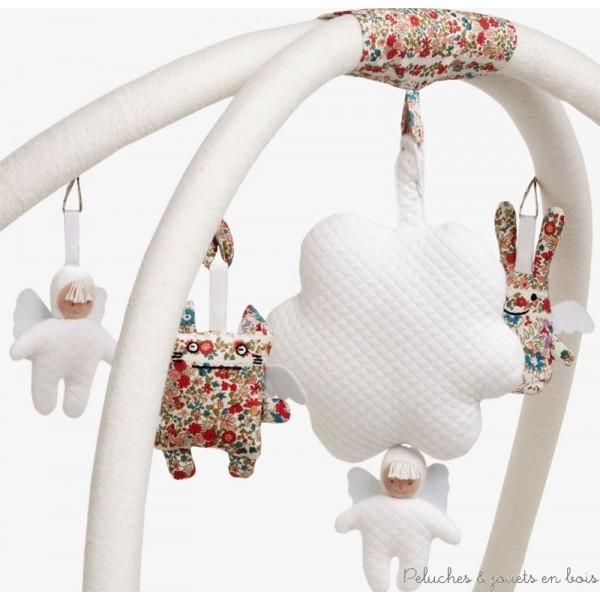 dans ce tapis dveil musical carr ivoire 90 cm tout lunivers - Tapis De Jeu Bebe 1 An