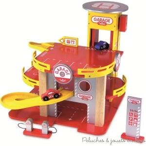jouets en bois charismatiques pour les 3 ans 10 garage en bois jouet parking et circuit de. Black Bedroom Furniture Sets. Home Design Ideas