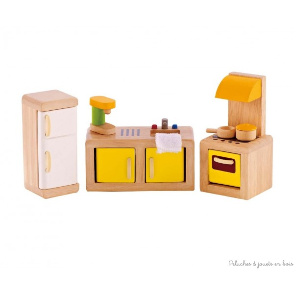 maison de poup es en bois sans meubles ni accessoires pour la d corer l quiper comme bon vous. Black Bedroom Furniture Sets. Home Design Ideas