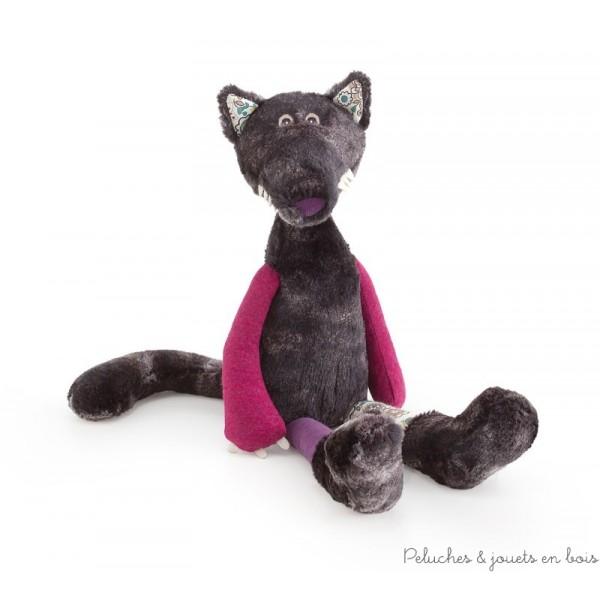 Dans la collection les anges de la forêt Rufus le loup aux longues pattes de la marque Trudi. A partir de 0m+
