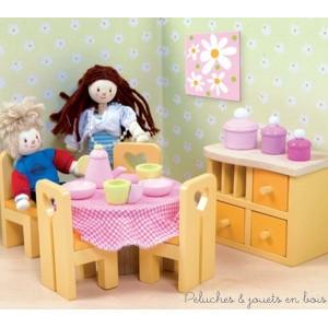 Le Toy Van, La salle à manger Sugar Plum Meubles pour maison de poupée