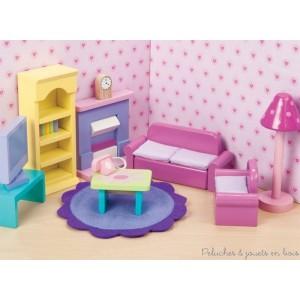 Le Toy Van, Le salon Sugar Plum Meubles pour maison de poupée