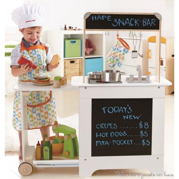 La cuisine en bois jouet for Cuisine en bois jouet