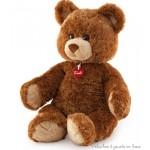 Un bel ours en peluche brun clair doux et sympathique de 49 cm, Marlon de la marque Trudi. Tous âges