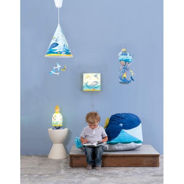 D co chambre b b enfant 3 d couverte des collections de lampes poser pour les petits for Lampe chambre bebe garcon