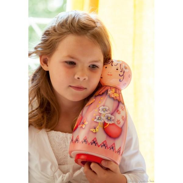 Lampe musicale, Violette de la marque : L'Oiseau Bateau, déco chambre bébé & enfant