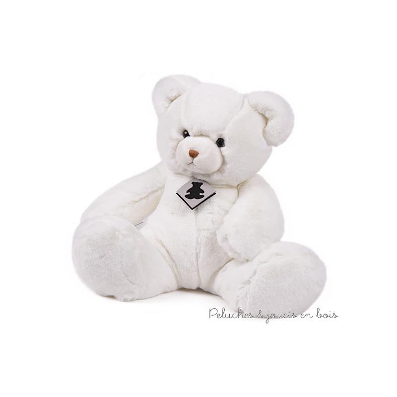 Dans la collection haut de gamme Signature de la marque Histoire d'Ours, un ours blanc Alaska. A partir de 0M+
