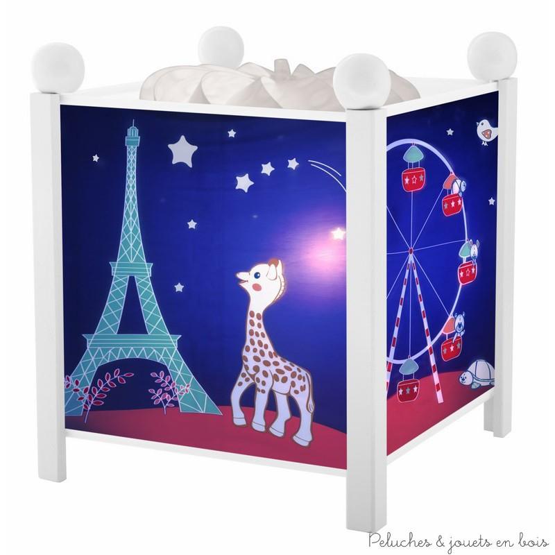 Lanterne magique de la marque Trousselier sur le thème Sophie la Girafe© Paris. A partir de 0m+