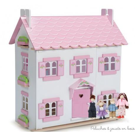 le-toy-van-maison-de-sophie-famille-de-4-poupees-habillees-chic-incluse