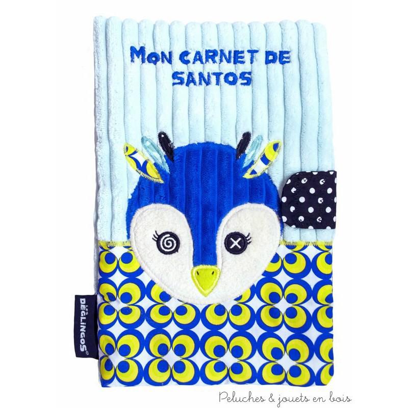 Un protège carnet de santé FRIGOS LE PINGOUIN de la marque Déglingos. A partir de 0 mois+