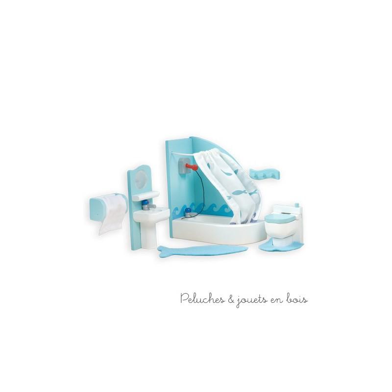 Le Toy Van, La salle de bain Sugar Plum Meubles pour maison de poupée