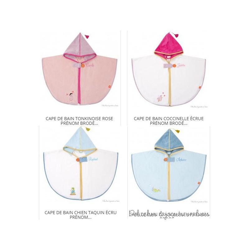 Choississez votre thème parmi 4 univers colorés : Tonkinoise rose, Coccinelle écrue, Dragon bleu, Chien taquin écru